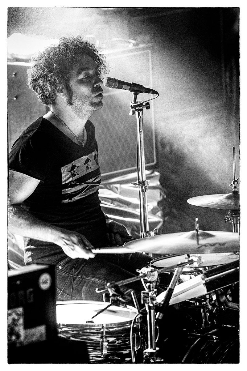 Brent DeBoer of The Dandy Warhols at Festsaal Kreuzberg Berlin by Clemens Mitscher Rock & Roll Fine Arts