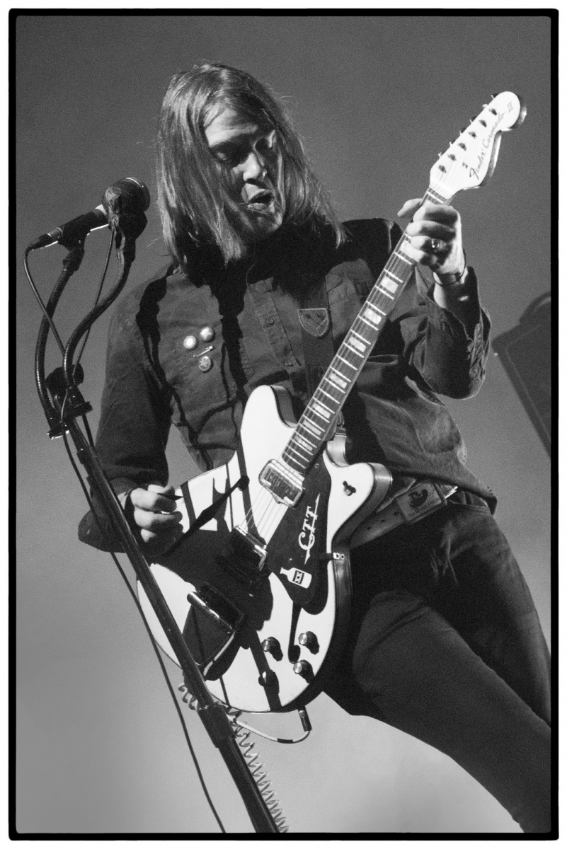 Courtney Taylor-Taylor of The Dandy Warhols at De Roma Antwerpen by Clemens Mitscher Rock & Roll Fine Arts