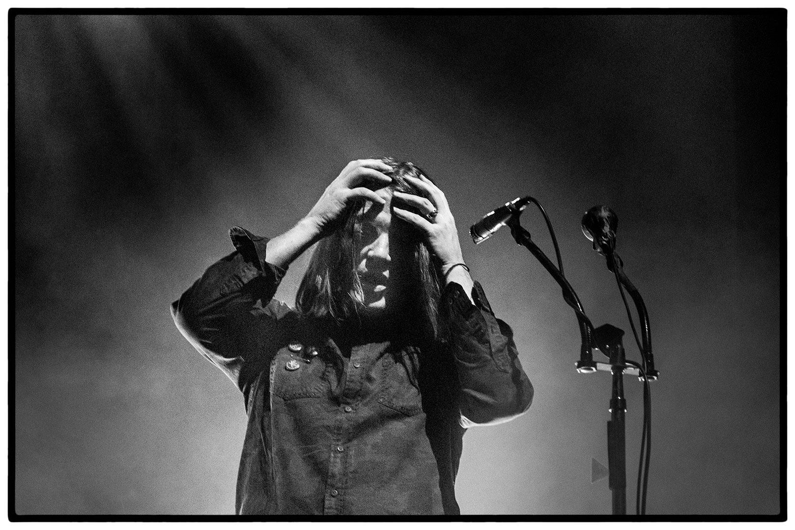 Courtney Taylor-Taylor of The Dandy Warhols at L'Olympia Paris by Clemens Mitscher Rock & Roll Fine Arts