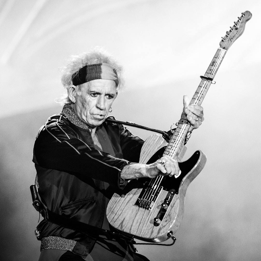 Keith Richards © Clemens Mitscher / VG Bild-Kunst Bonn
