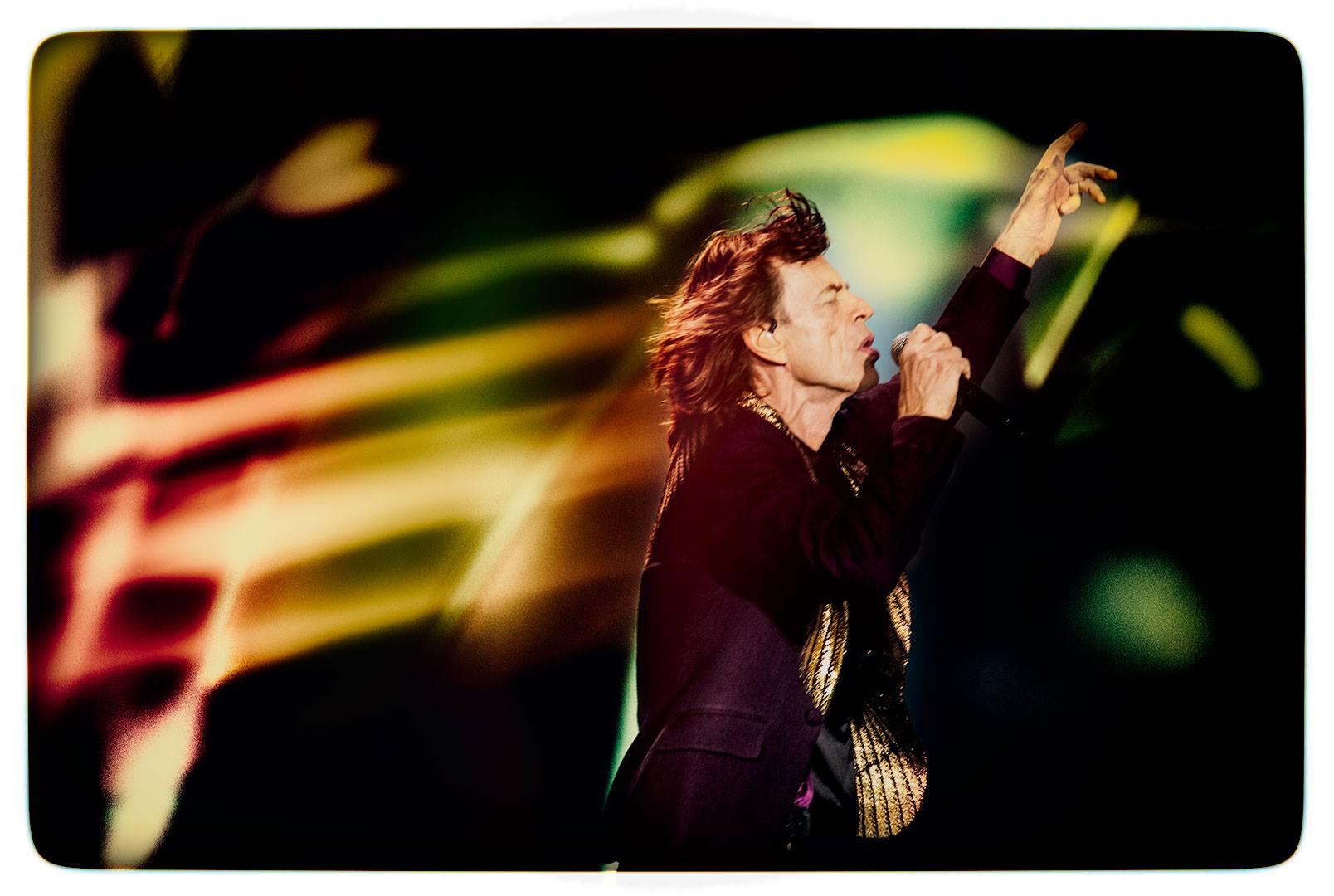 Mick Jagger © Clemens Mitscher / VG Bild-Kunst Bonn